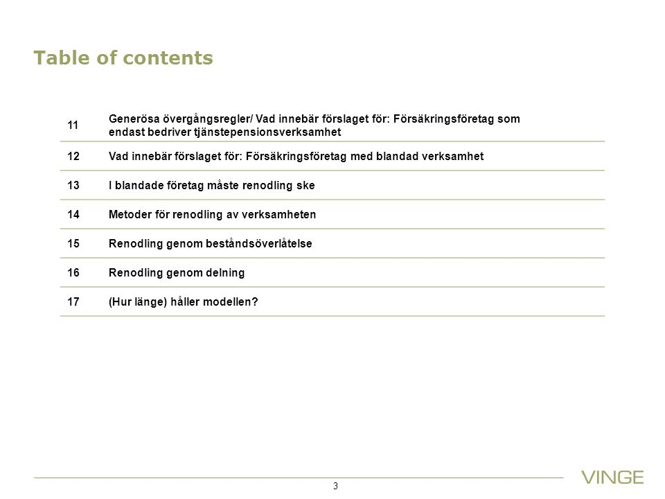 14/03/2012 Table of contents. 11.