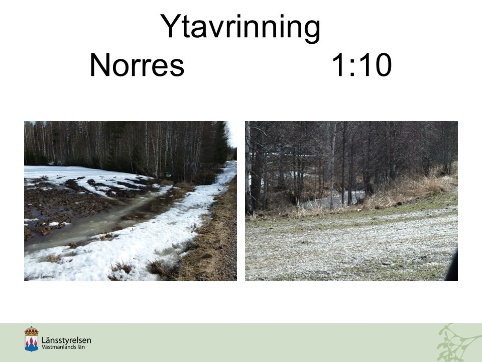 Ytavrinning Norres 1:10