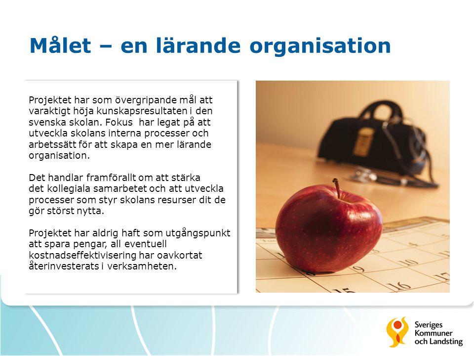 Målet – en lärande organisation