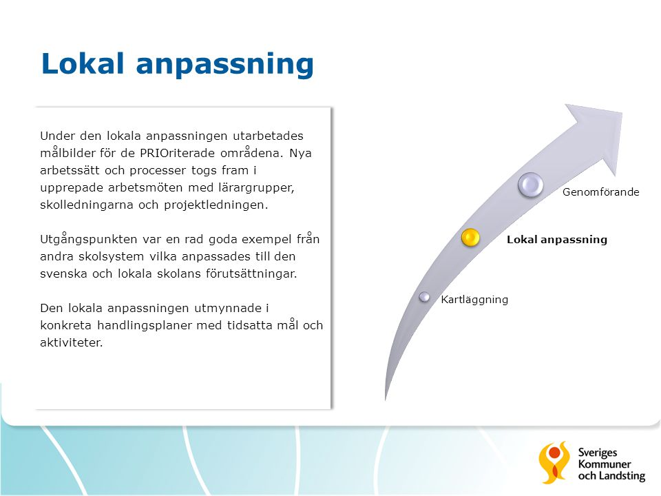 Lokal anpassning