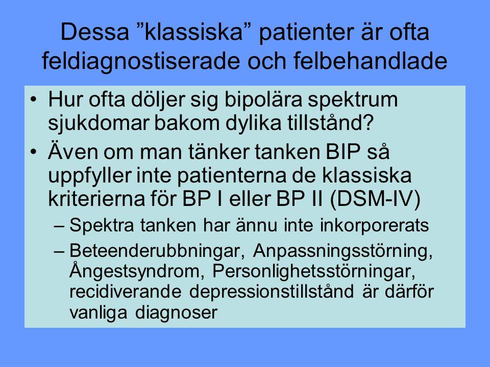 Dessa klassiska patienter är ofta feldiagnostiserade och felbehandlade