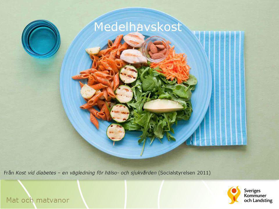 Medelhavskost Mat och matvanor