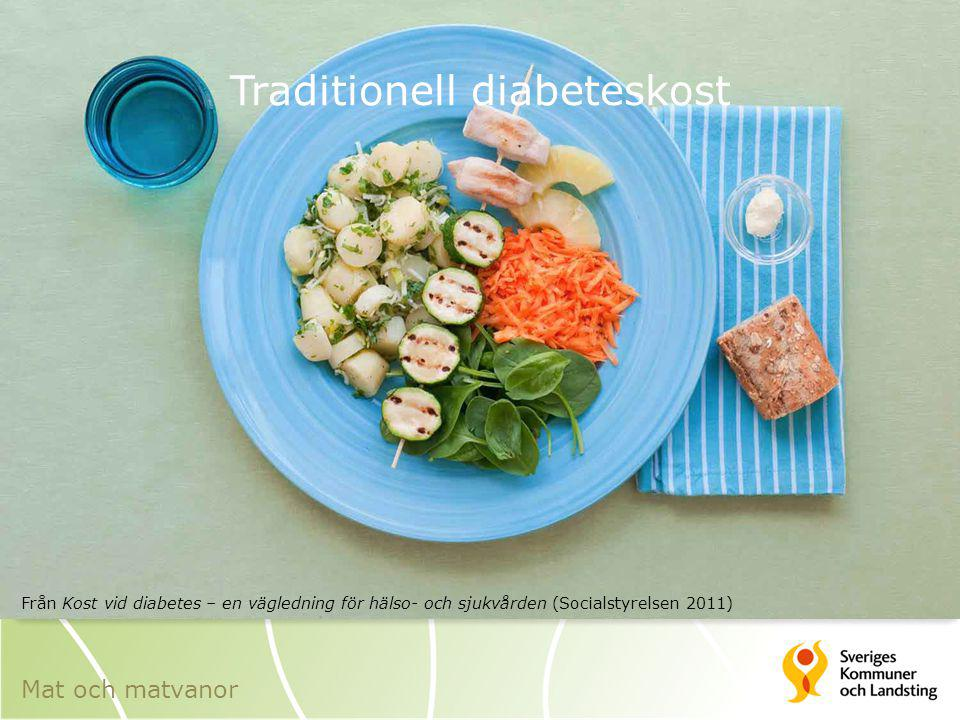 Traditionell diabeteskost
