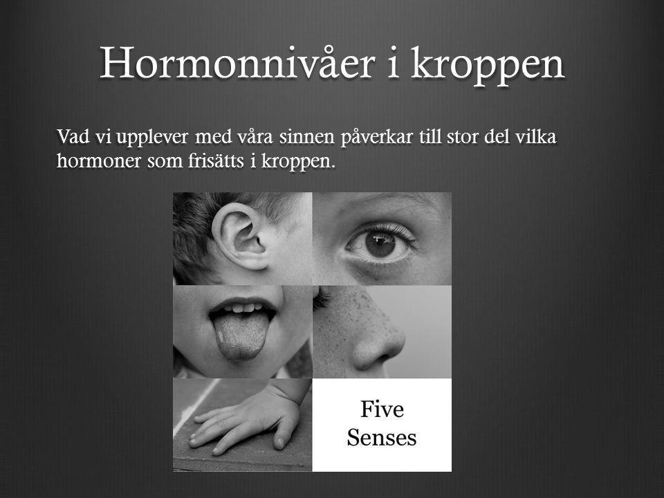 Hormonnivåer i kroppen