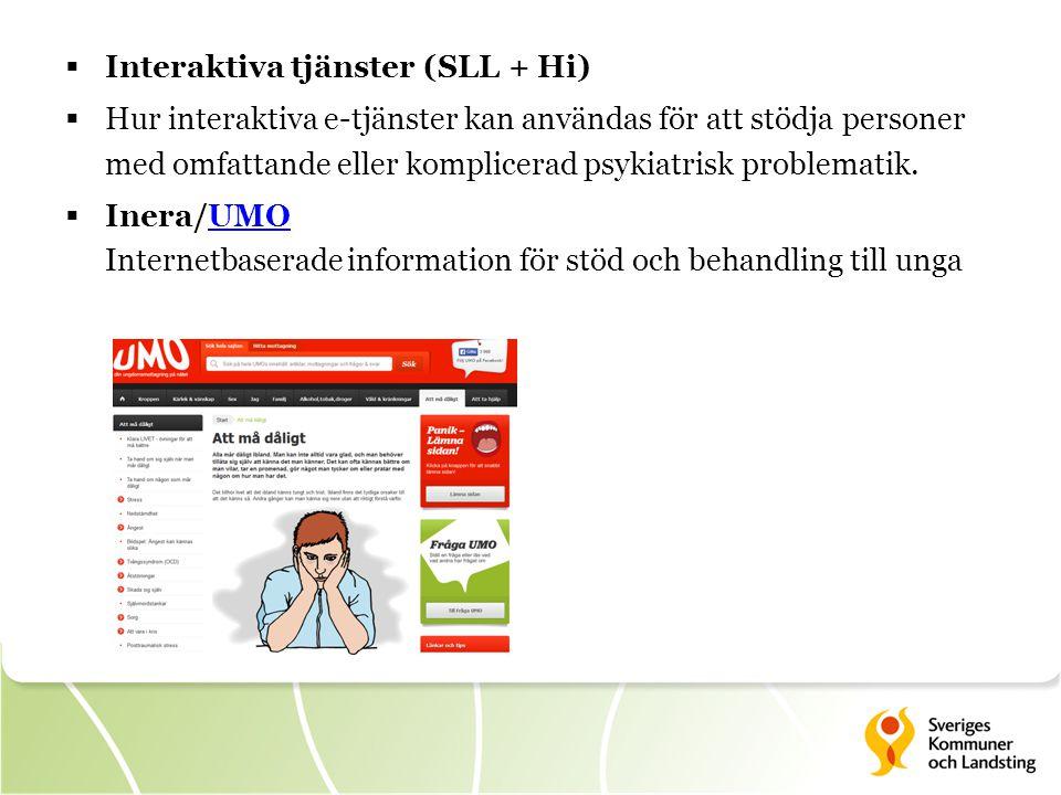 Interaktiva tjänster (SLL + Hi)