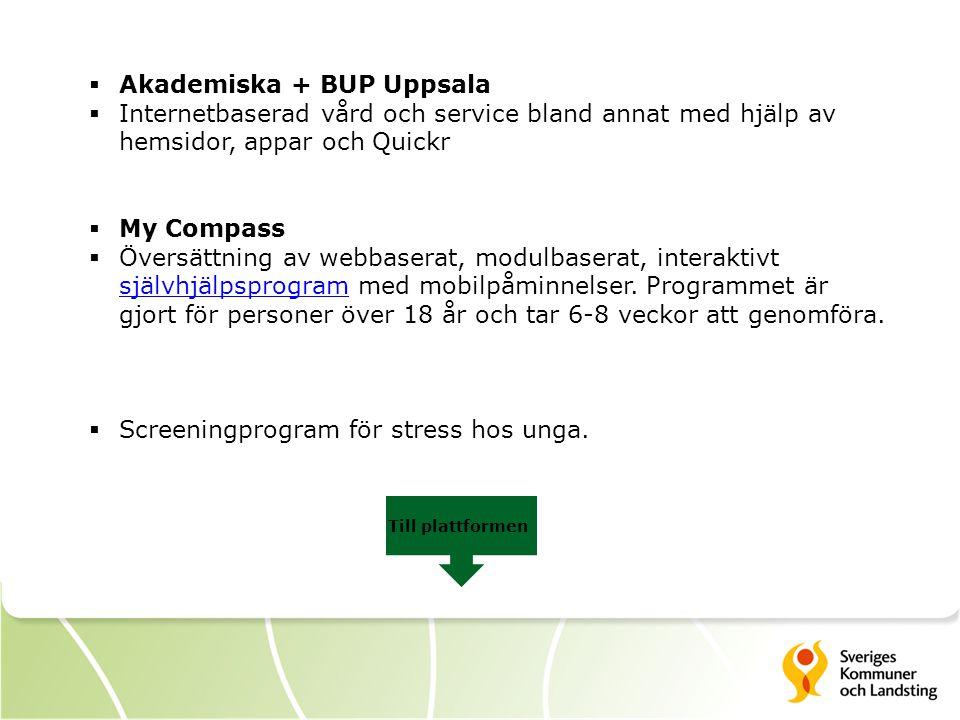 Akademiska + BUP Uppsala