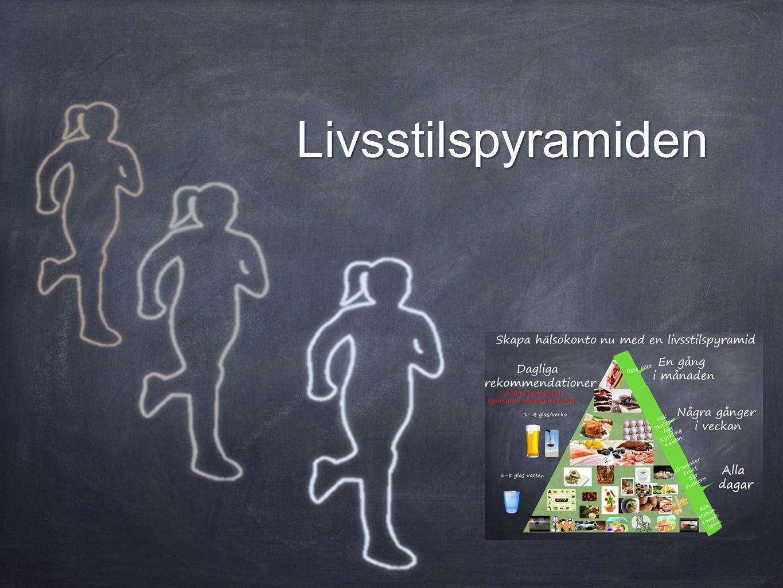 Livsstilspyramiden Att kombinera e-utbildning med IRL -aktiviteter