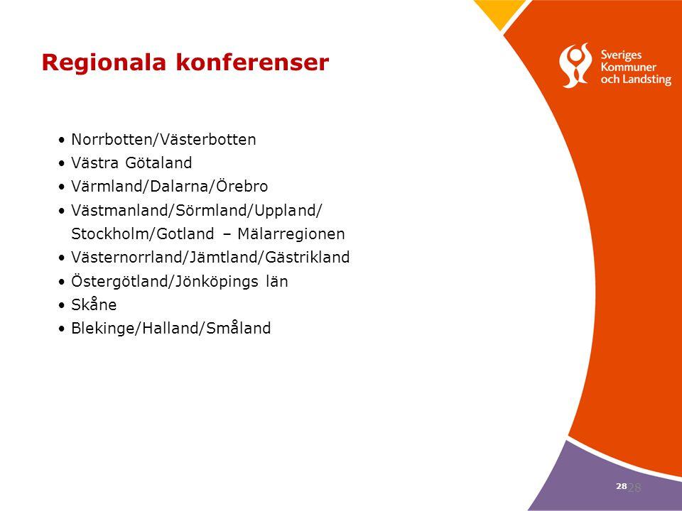 Regionala konferenser