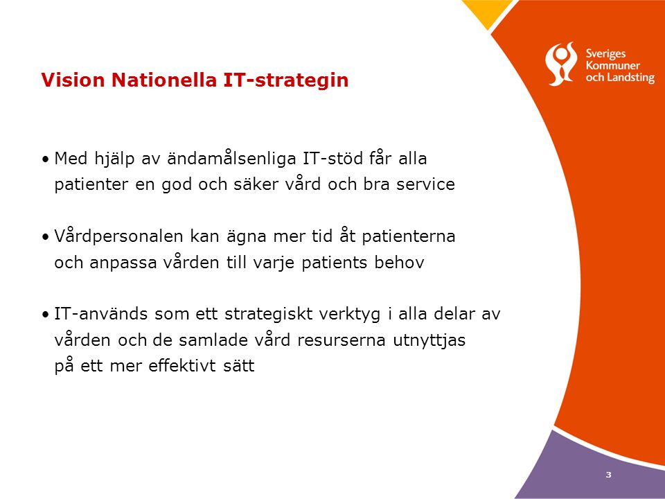 Vision Nationella IT-strategin
