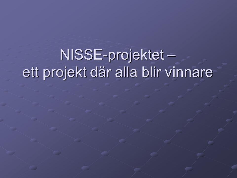NISSE-projektet – ett projekt där alla blir vinnare
