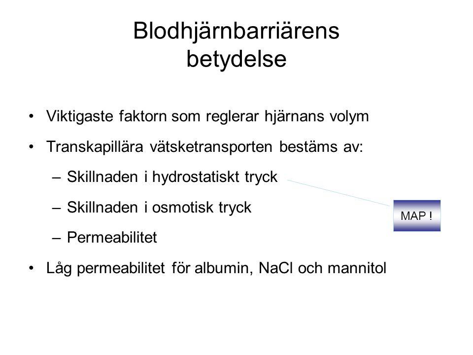 Blodhjärnbarriärens betydelse