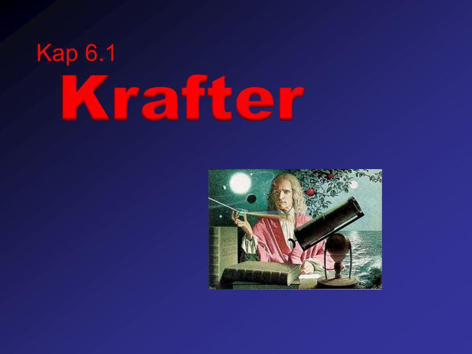 Kap 6.1 Krafter
