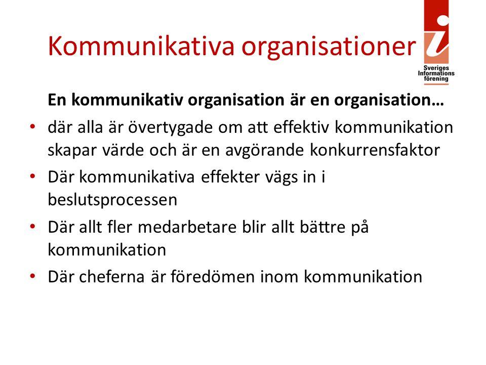 Kommunikativa organisationer