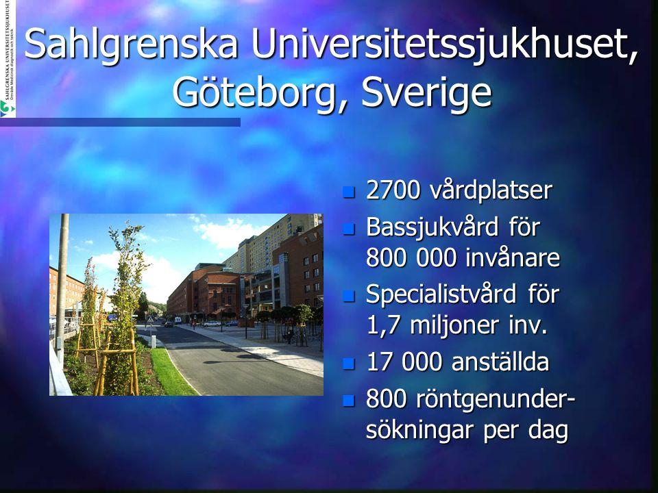 Sahlgrenska Universitetssjukhuset, Göteborg, Sverige