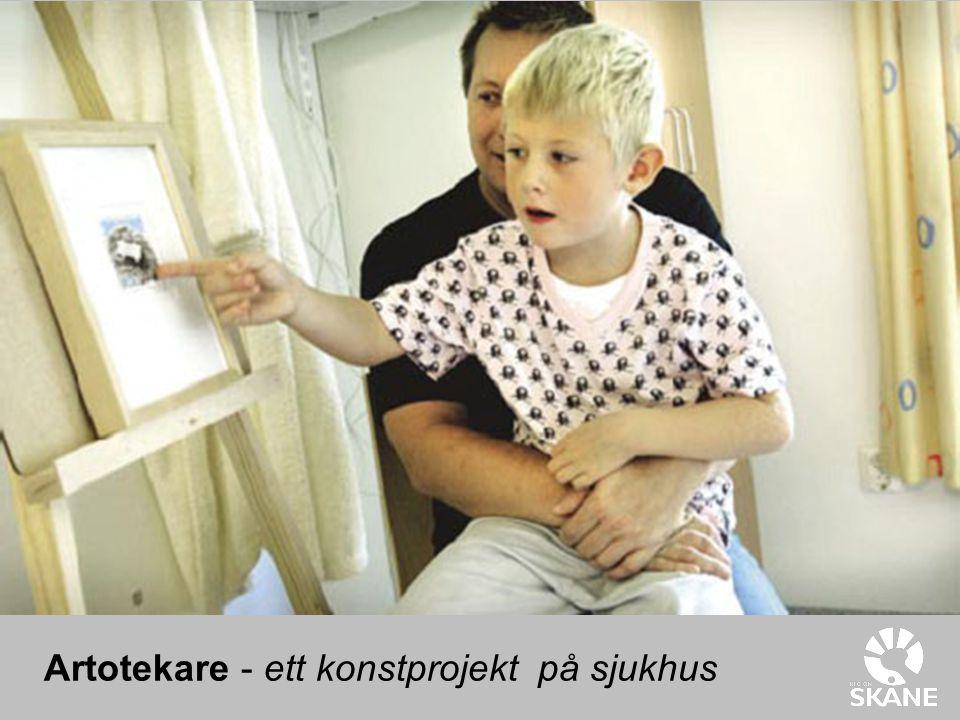 Artotekare - ett konstprojekt på sjukhus