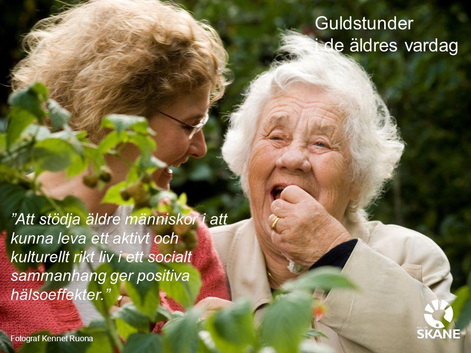 Guldstunder i de äldres vardag