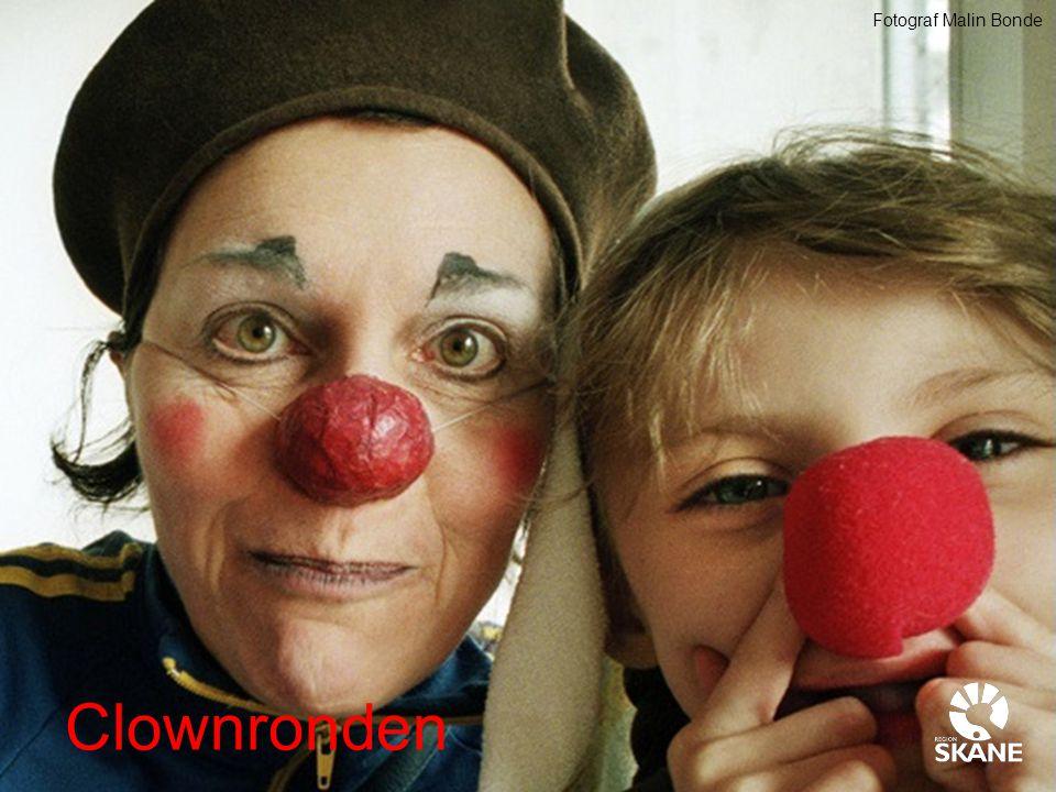 Fotograf Malin Bonde Clownronden
