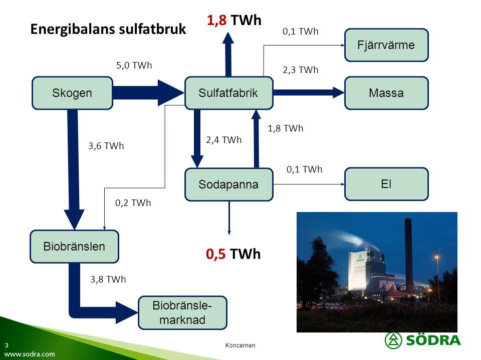 Energibalans sulfatbruk