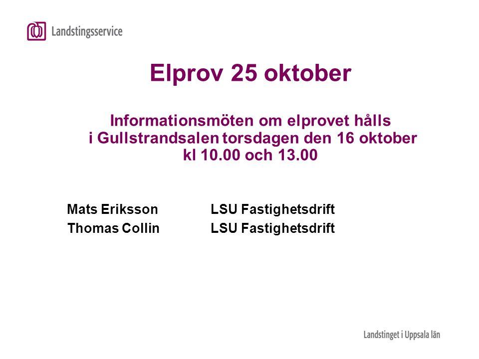 Mats Eriksson LSU Fastighetsdrift Thomas Collin LSU Fastighetsdrift