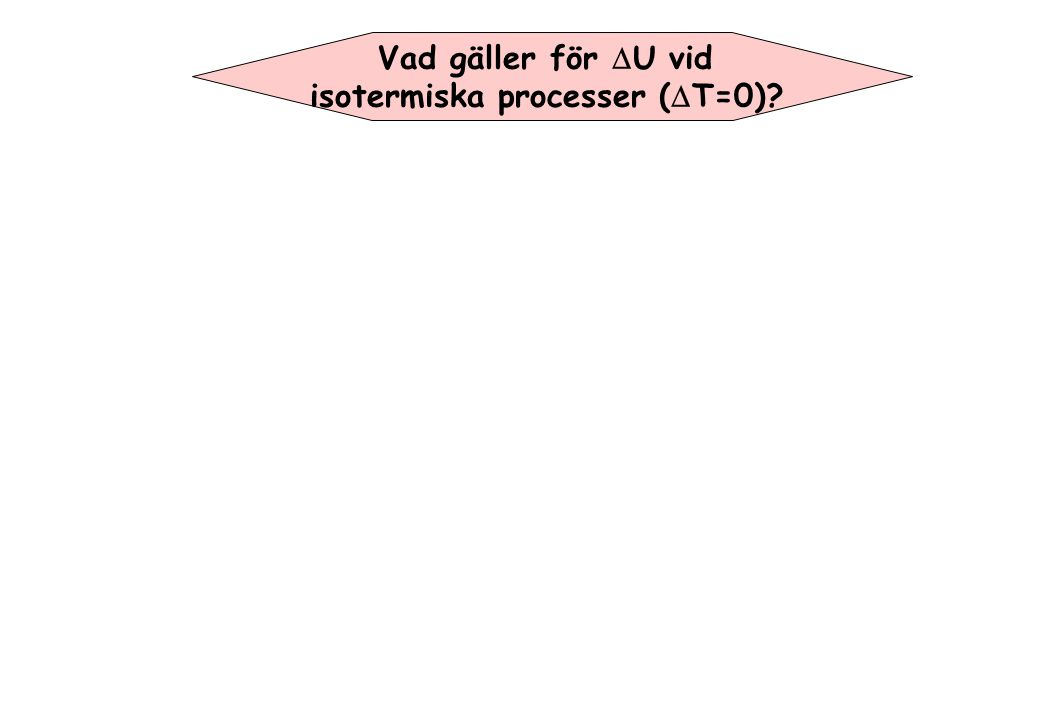 isotermiska processer (DT=0)