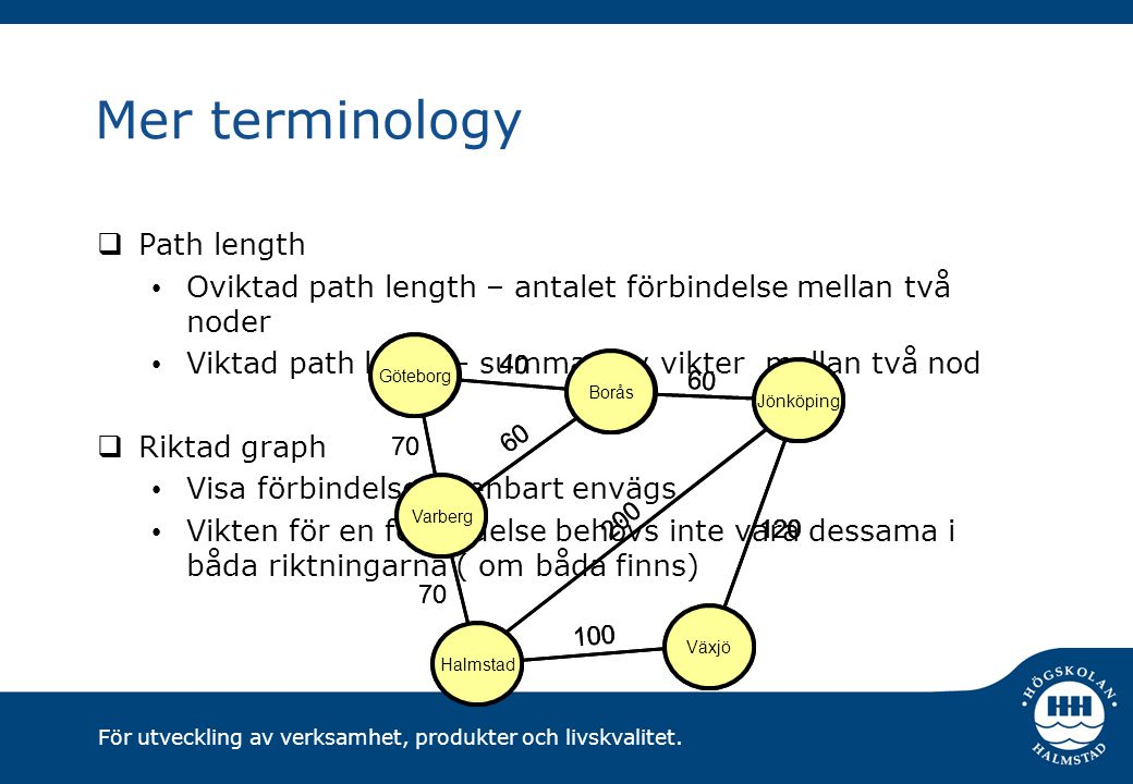 Mer terminology Path length