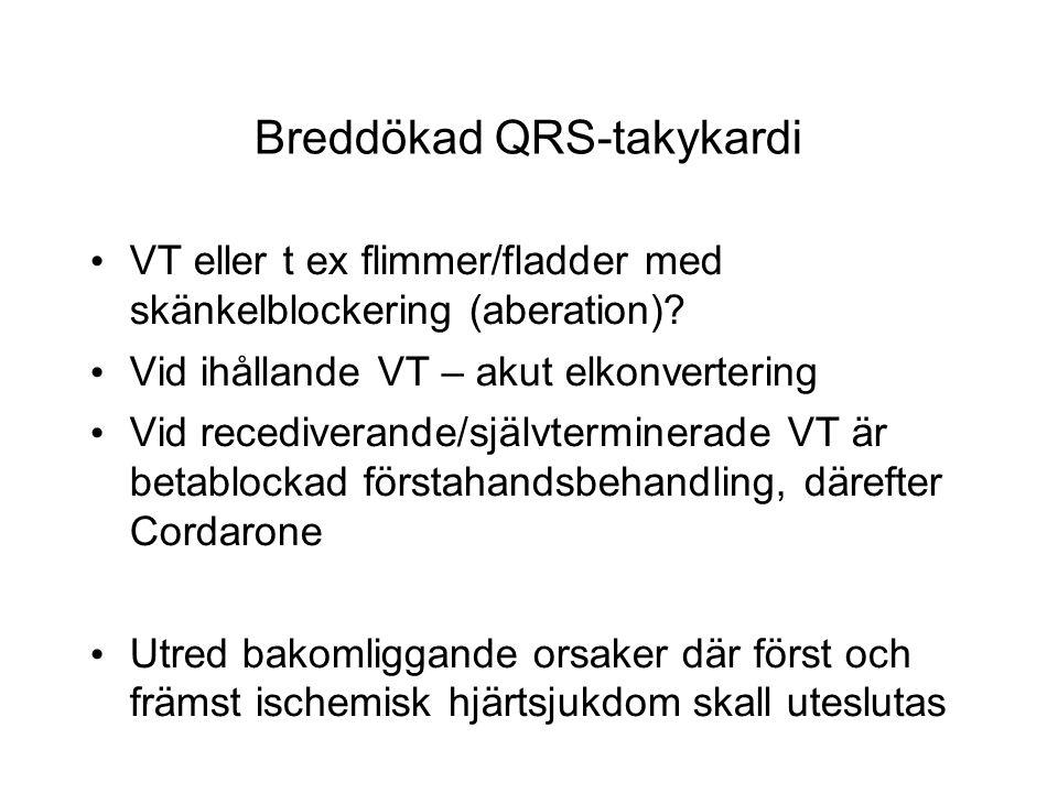 Breddökad QRS-takykardi