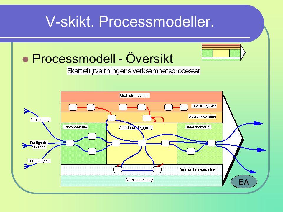V-skikt. Processmodeller.
