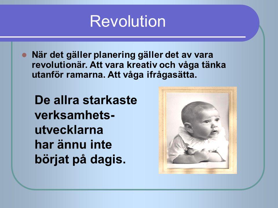 Revolution De allra starkaste verksamhets- utvecklarna har ännu inte