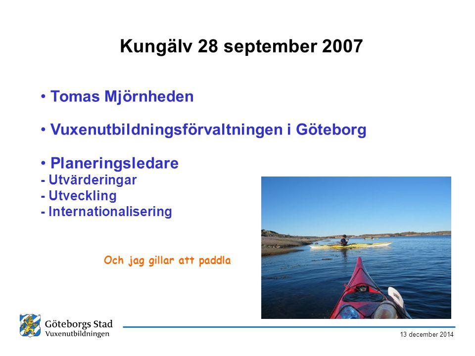 Kungälv 28 september 2007 Tomas Mjörnheden