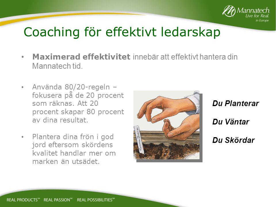 Coaching för effektivt ledarskap
