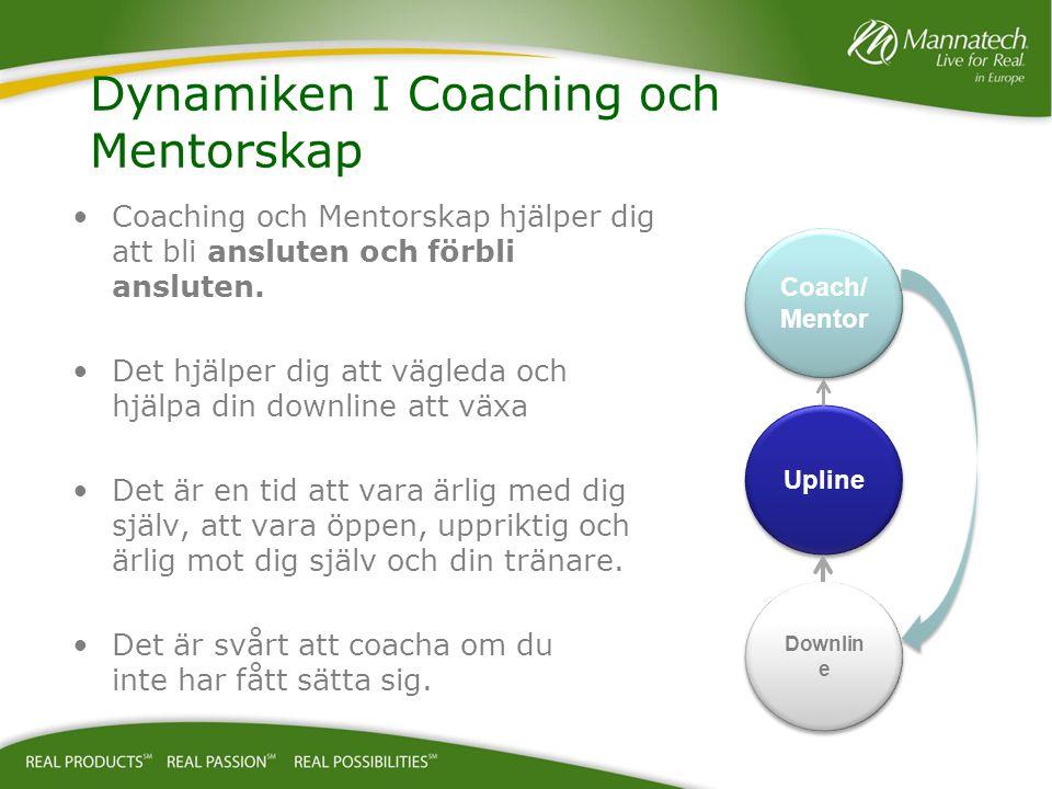Dynamiken I Coaching och Mentorskap