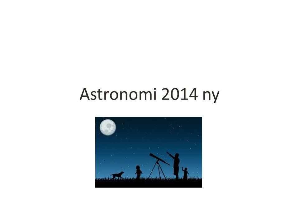 Astronomi 2014 ny