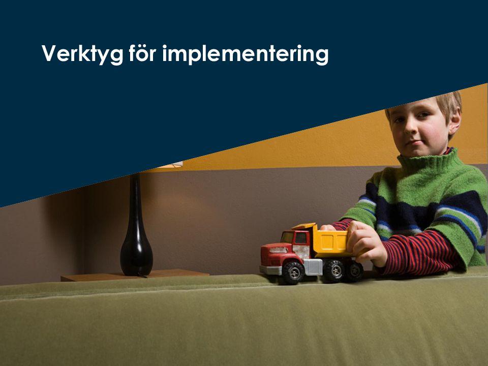 Verktyg för implementering