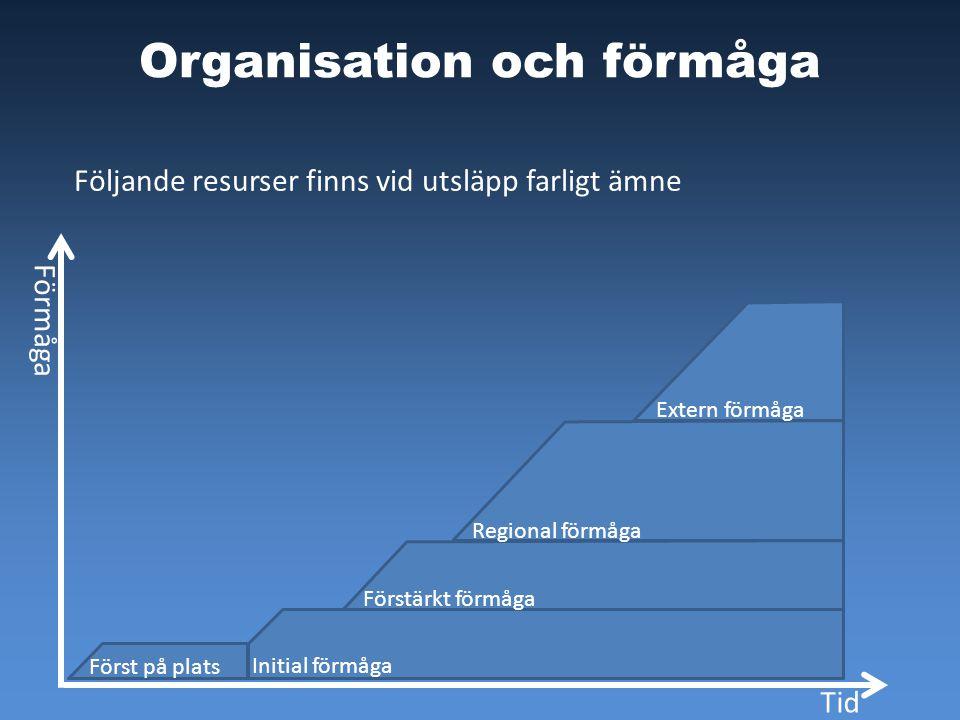 Organisation och förmåga