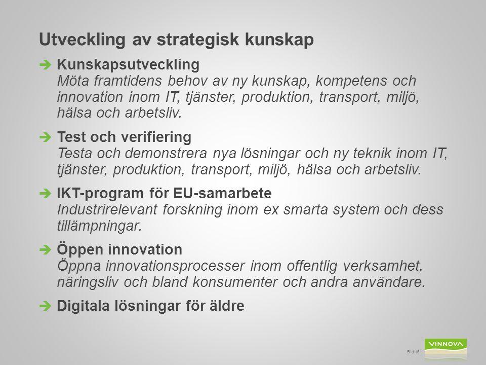 Utveckling av strategisk kunskap