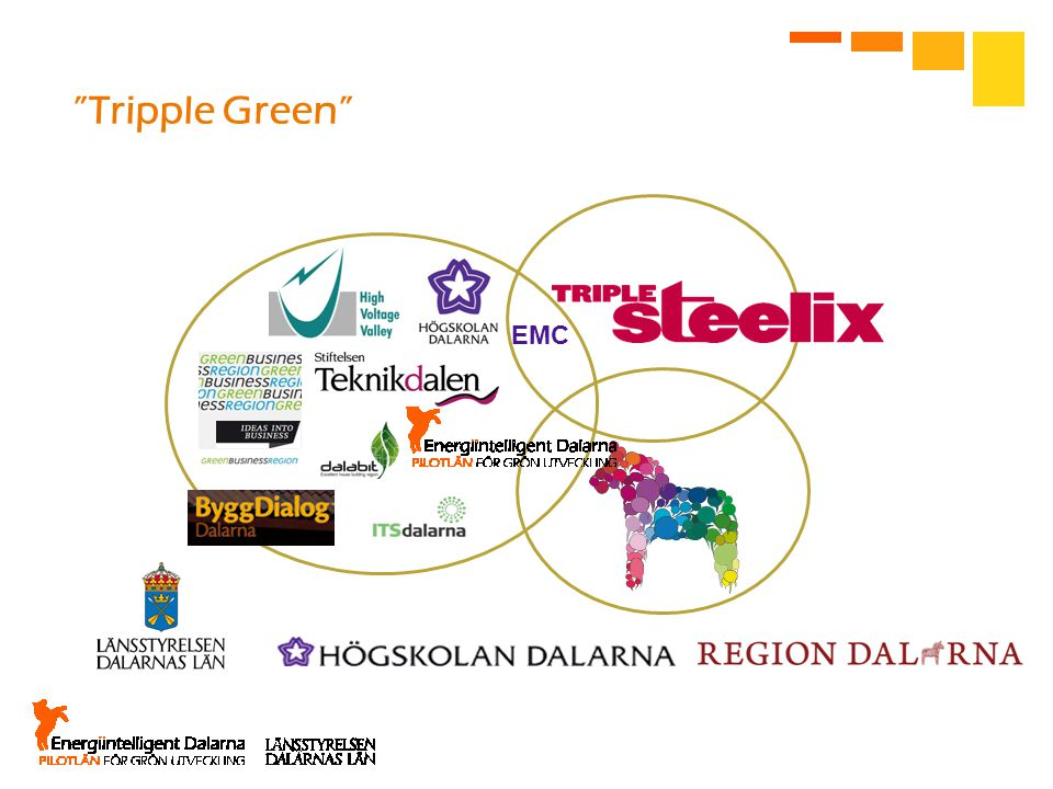Tripple Green EMC. We now connect are successful work with the regional development plan.
