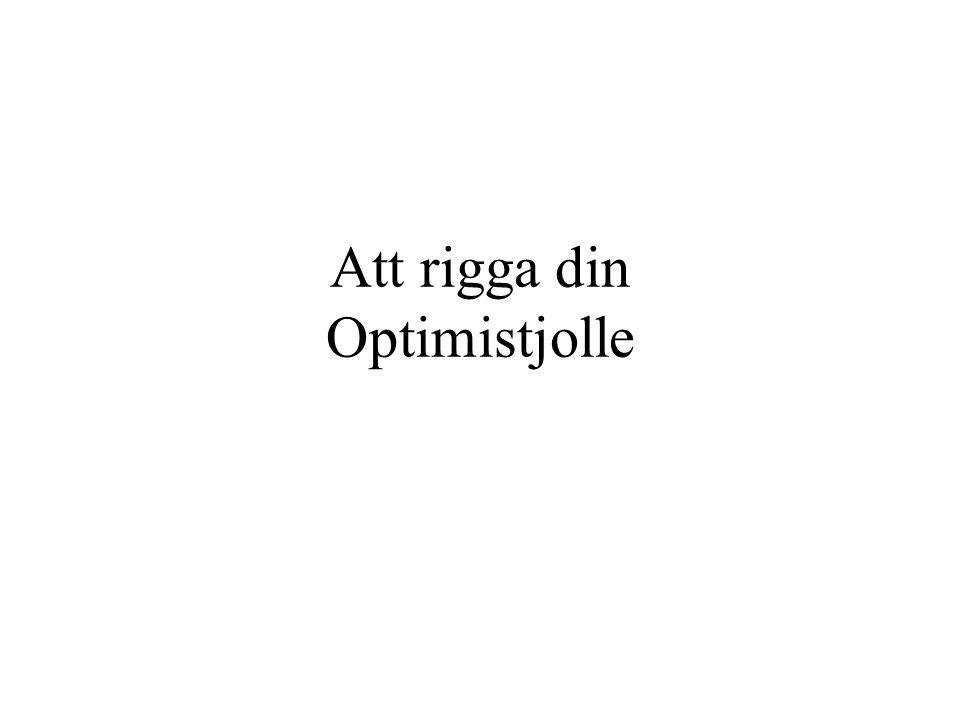 Att rigga din Optimistjolle