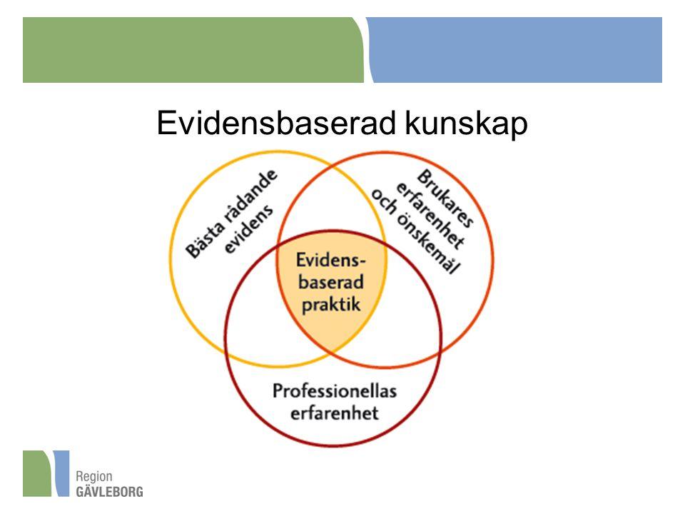 Evidensbaserad kunskap