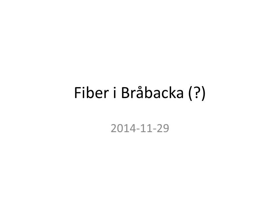 Fiber i Bråbacka ( ) 2014-11-29