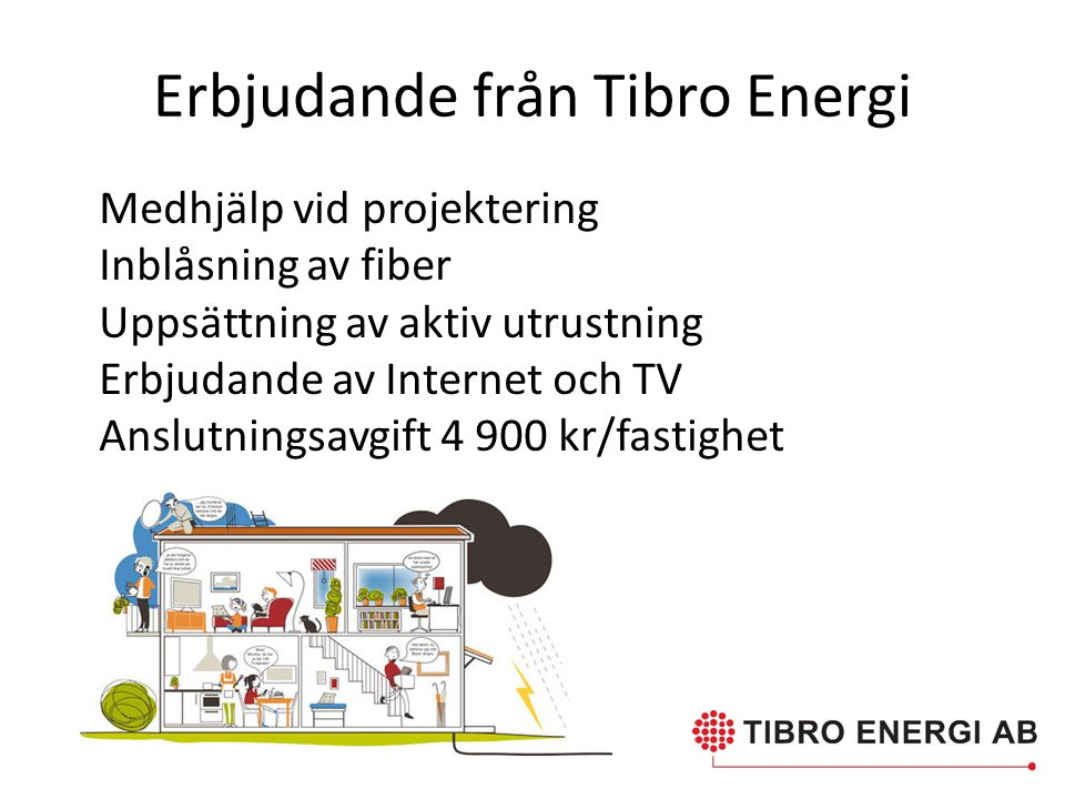 Erbjudande från Tibro Energi