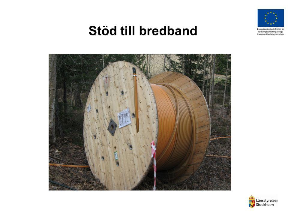 Stöd till bredband