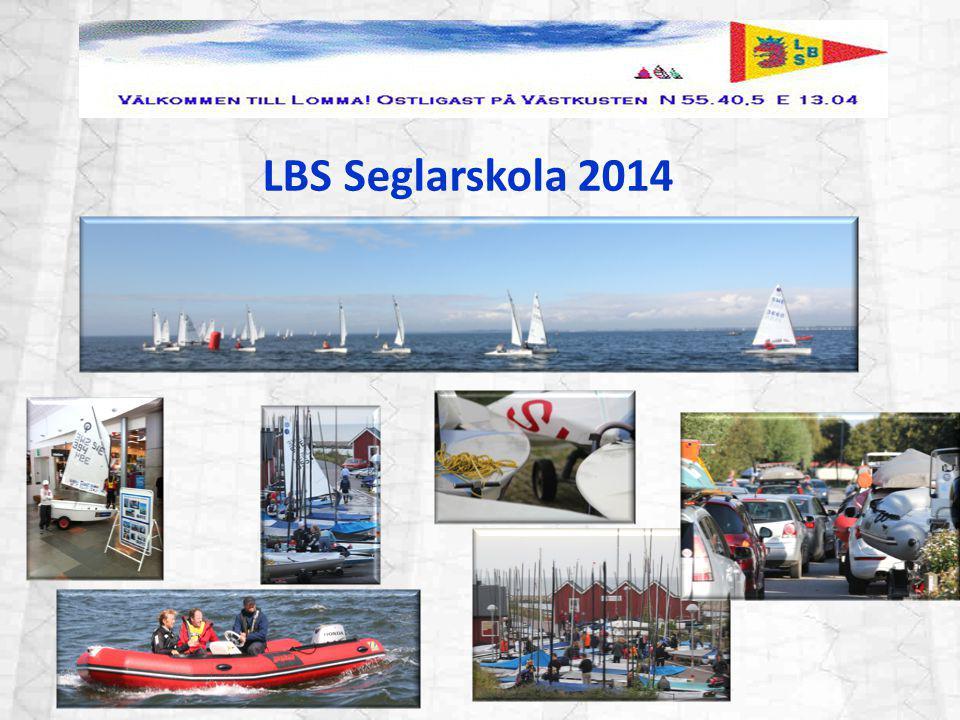 LBS Seglarskola 2014 Vi hade perfetkt seglarväder och arrangemanget gick bra.