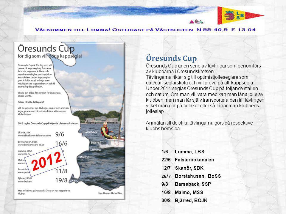 Öresunds Cup Öresunds Cup är en serie av tävlingar som genomförs av klubbarna i Öresundskretsen.