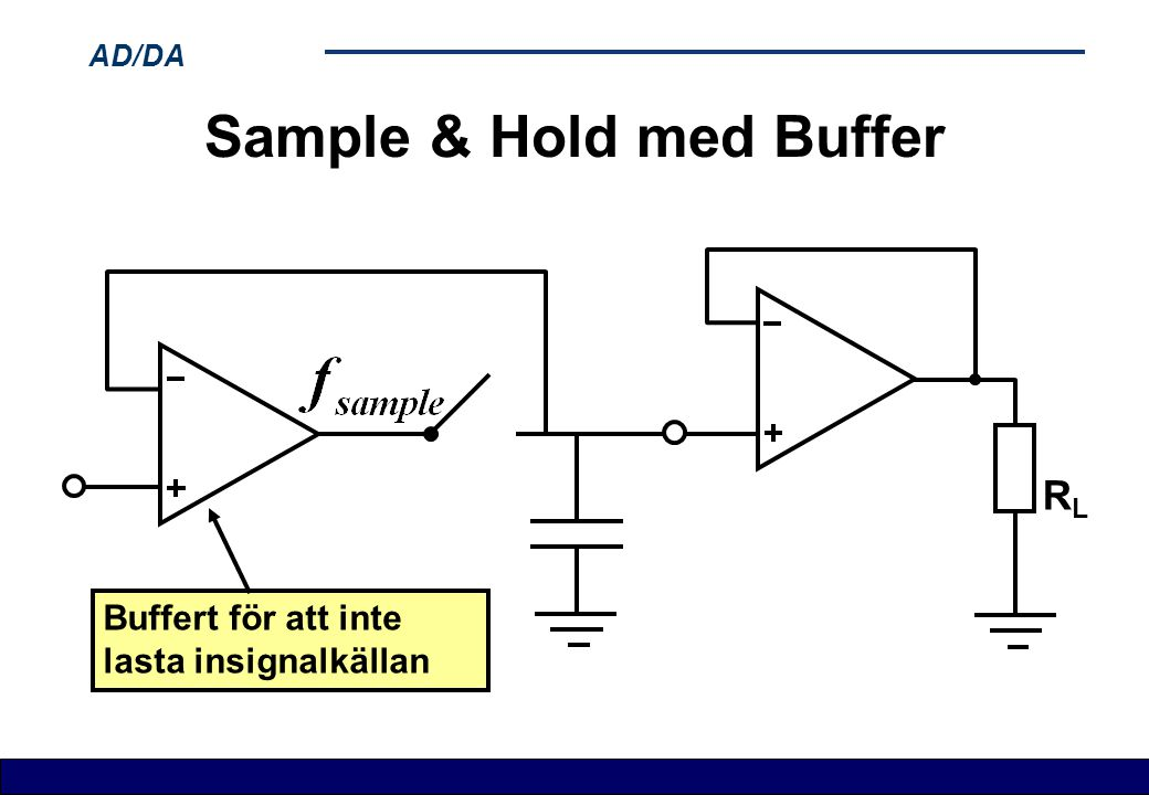 Sample & Hold med Buffer