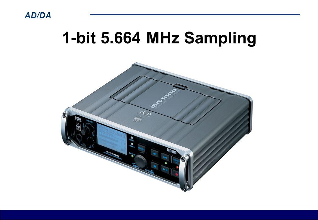 1-bit 5.664 MHz Sampling