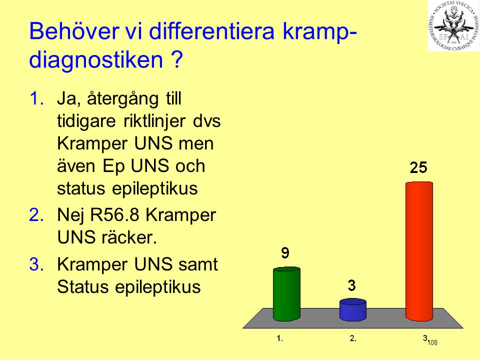 Behöver vi differentiera kramp-diagnostiken