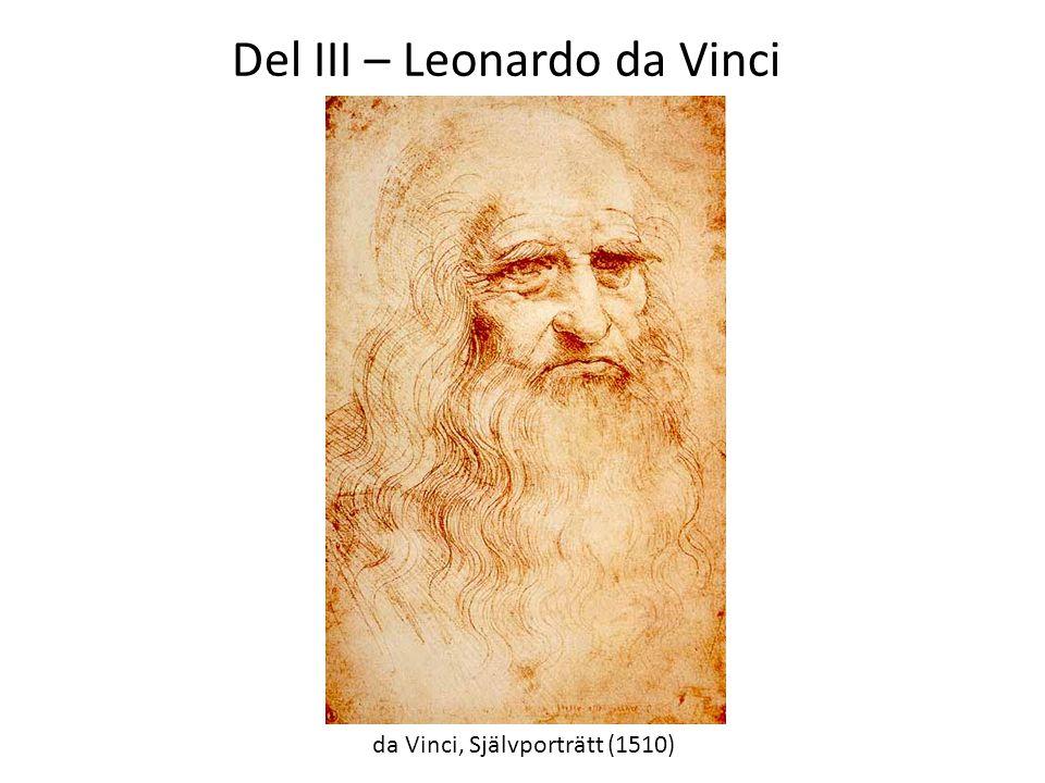 Del III – Leonardo da Vinci