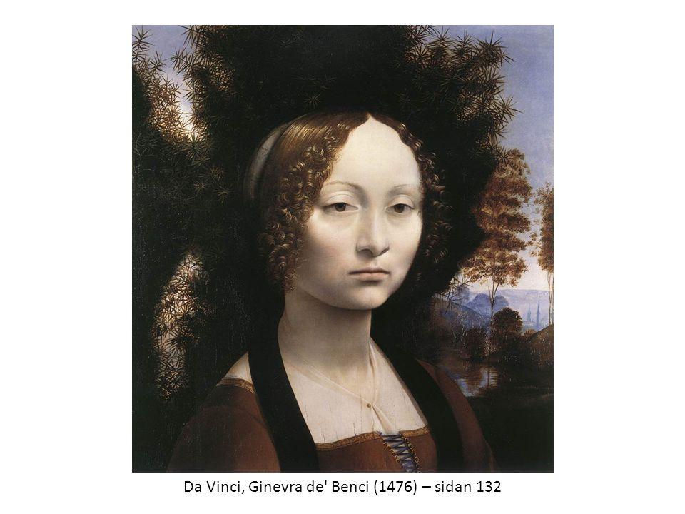 Da Vinci, Ginevra de Benci (1476) – sidan 132