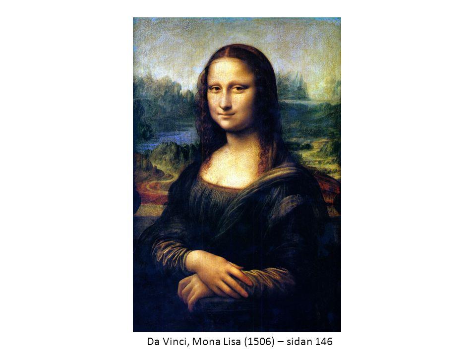 Da Vinci, Mona Lisa (1506) – sidan 146