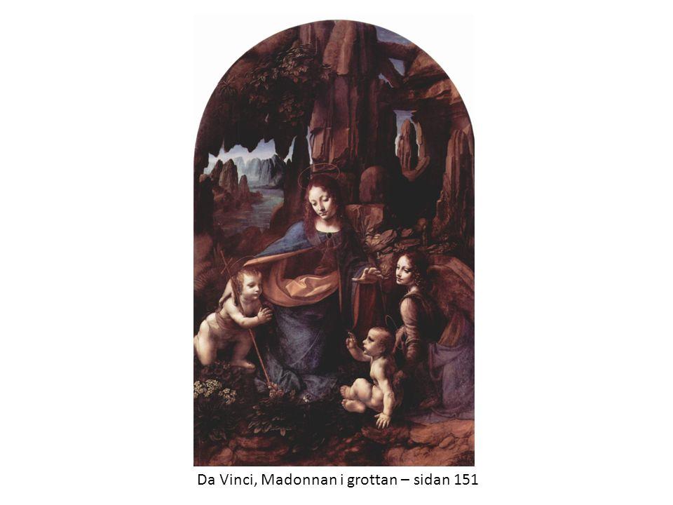 Da Vinci, Madonnan i grottan – sidan 151